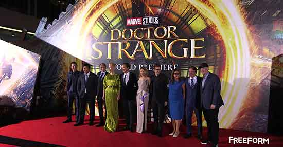 Doctor Strange Red Carpet