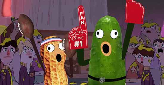 Pickle and Peanut ESPN